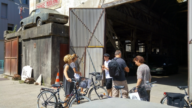 Bike and lunch tour in Bordeaux