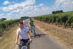 Wine and Bike tour around Saint-Emilion